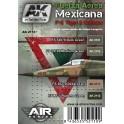 Fuerza Aerea Mexicana F-5 Tiger ll colours