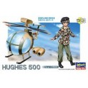 Hughes 500 egg plane