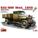 GAZ-MM. MOD. 1943. CARGO TRUCK
